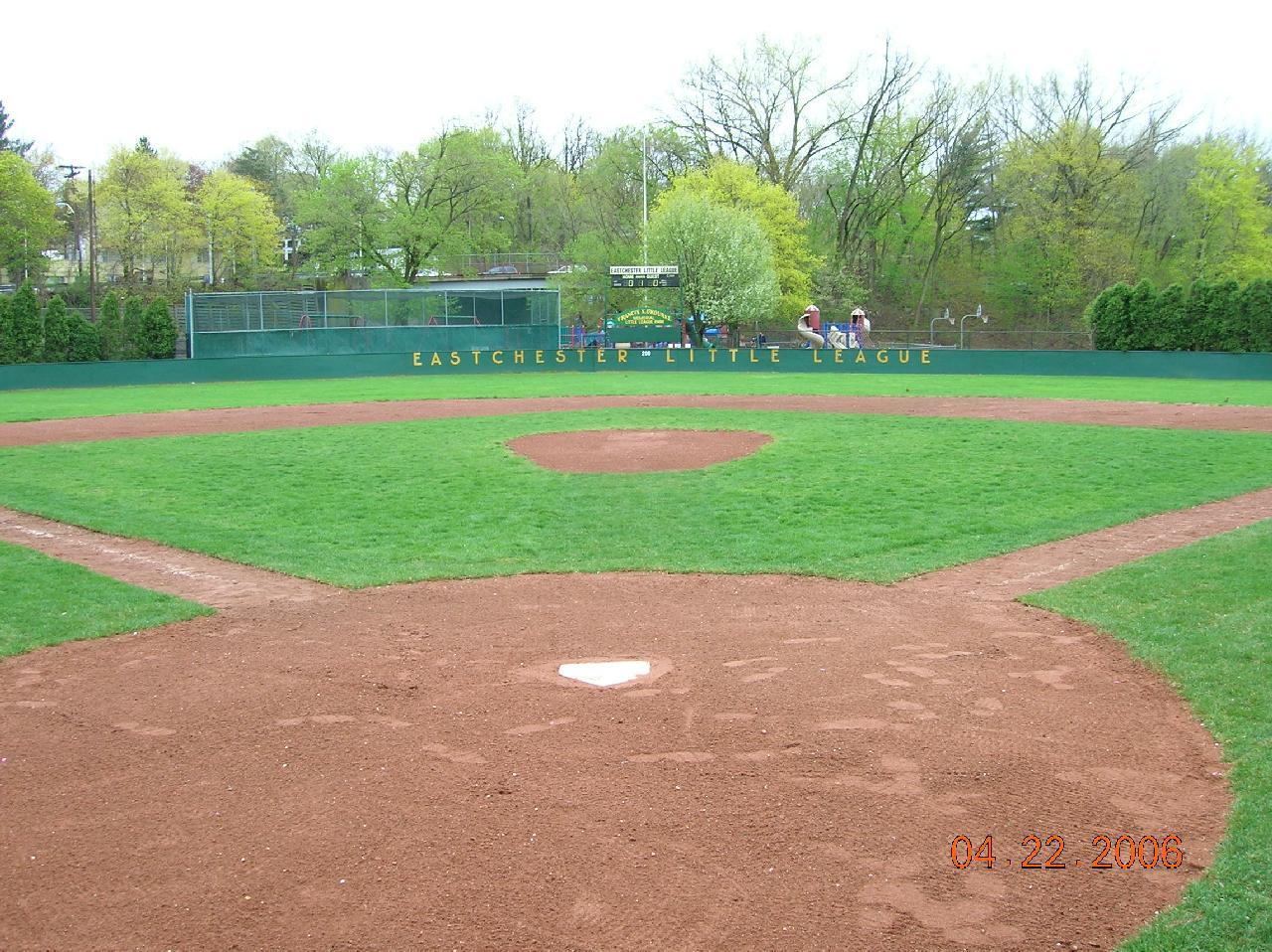 Little league baseball field images